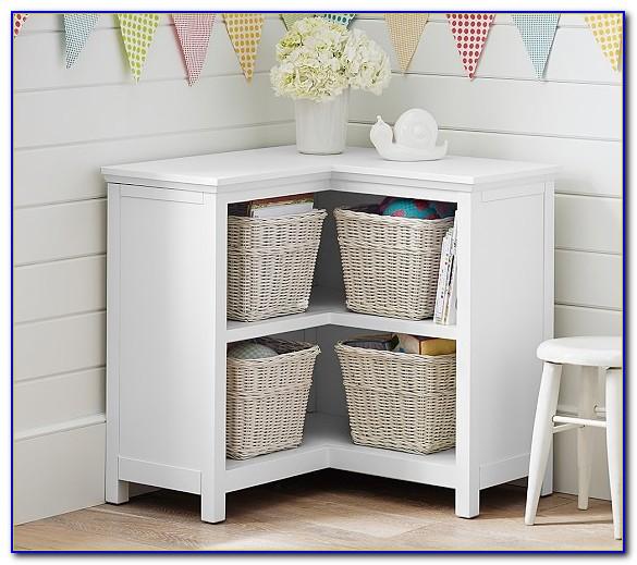 Cameron Corner Bookcase White