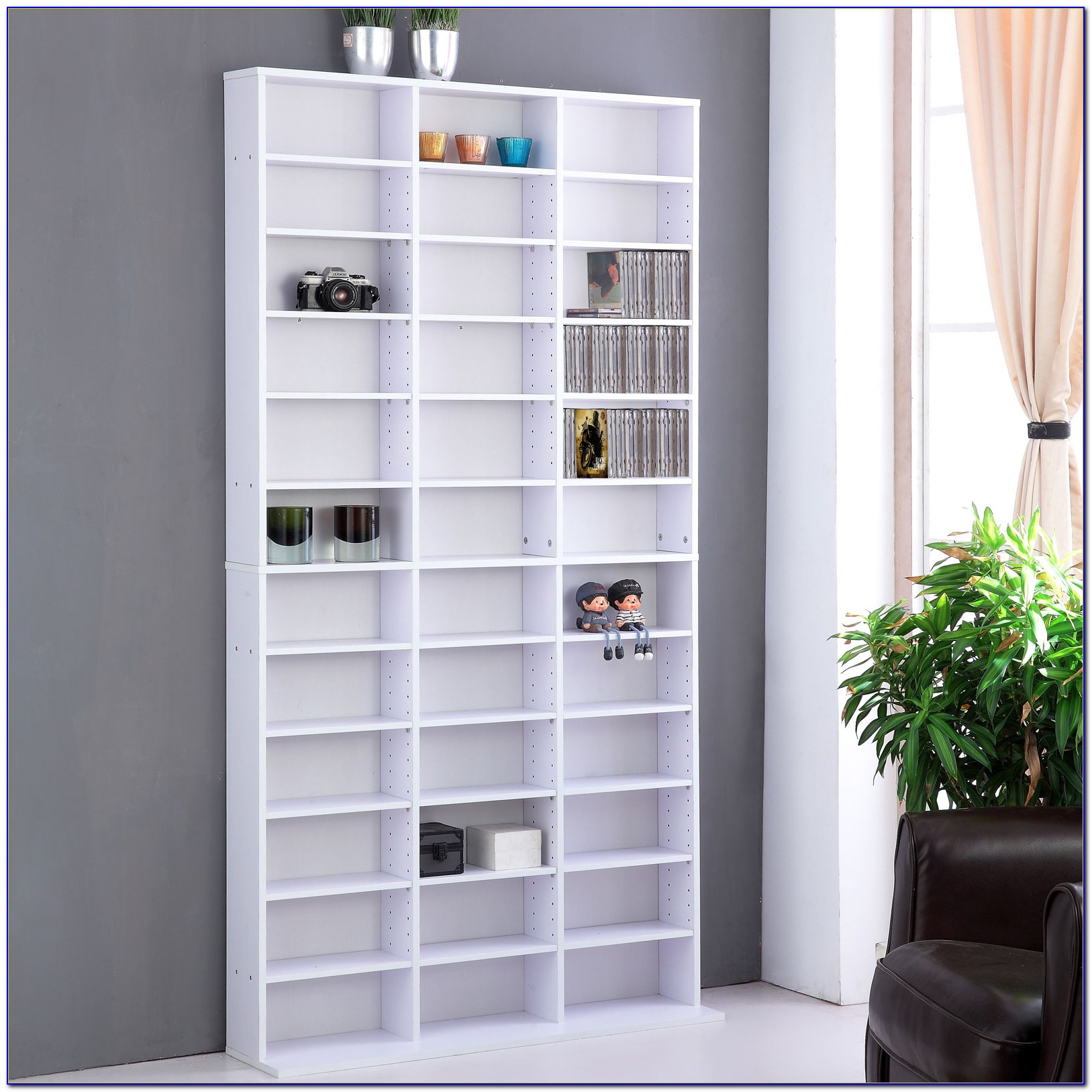 Cd Bookcase Storage