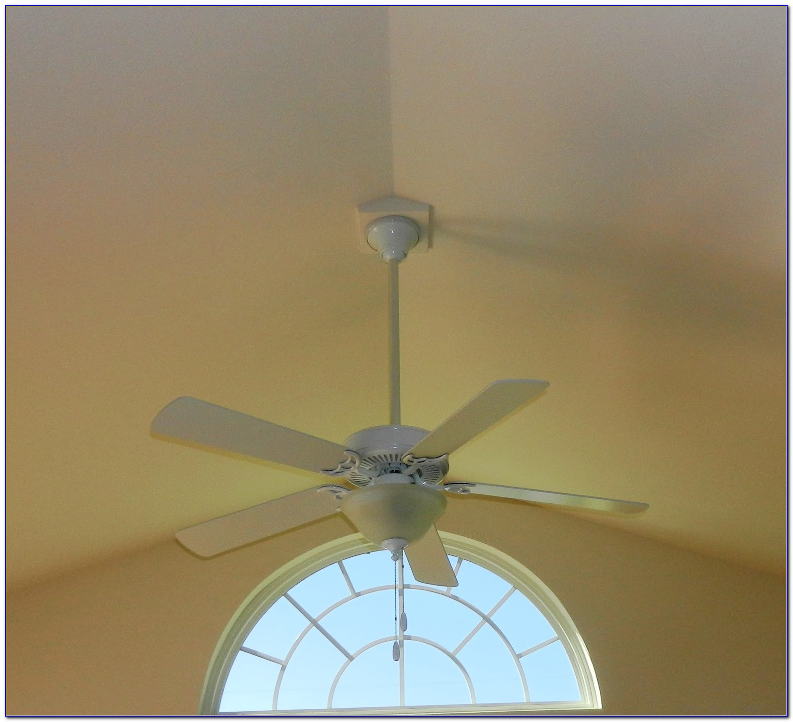Ceiling Fan Installation Vaulted Ceilings