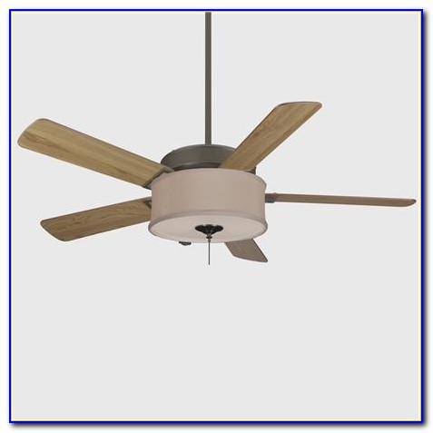 Ceiling Fan With Barrel Shade