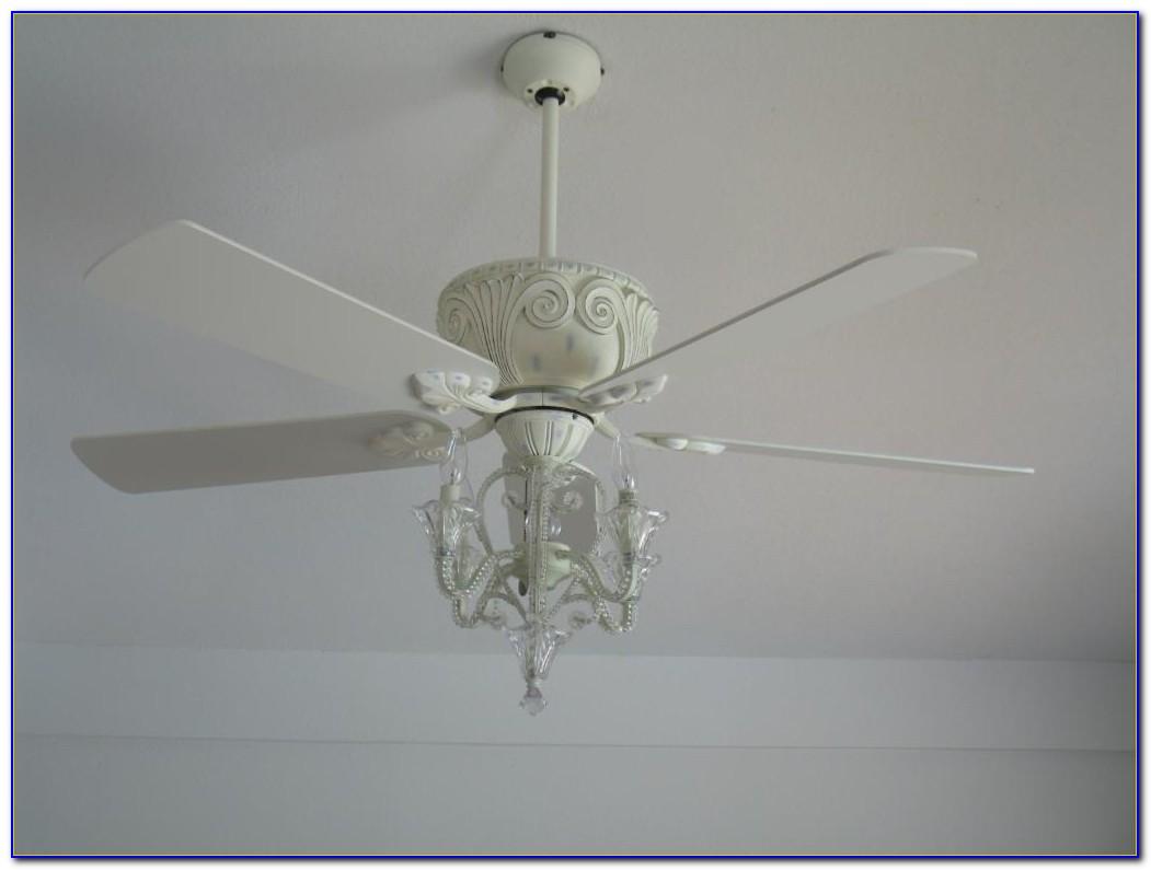 Ceiling Fan With Chandelier Light Kit