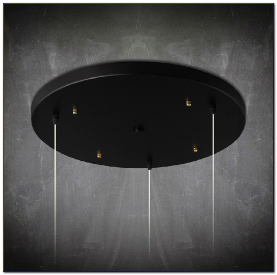 Ceiling Lamp Mounting Plate