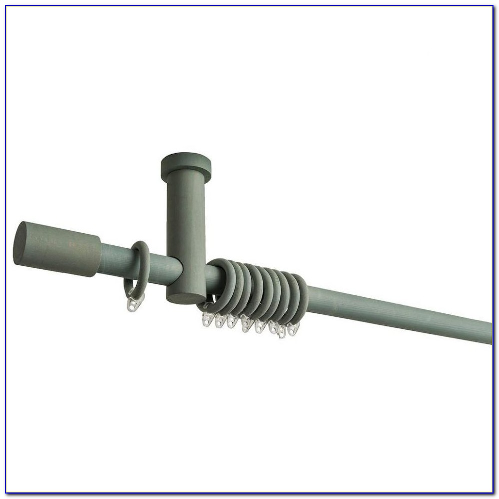 Ceiling Mount Curtain Rod For Bay Window