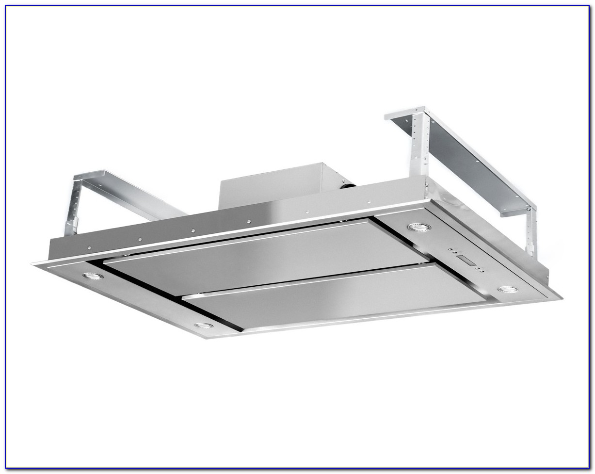 Ceiling Mount Range Hood Designs