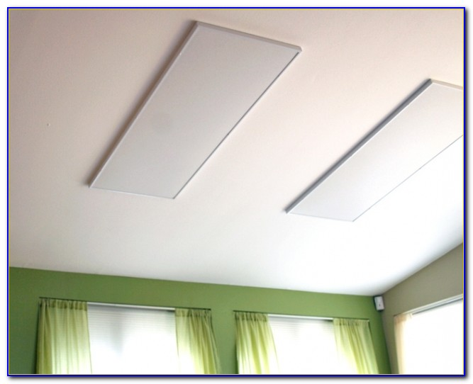 Ceiling Mounted Electric Radiant Heating Panels