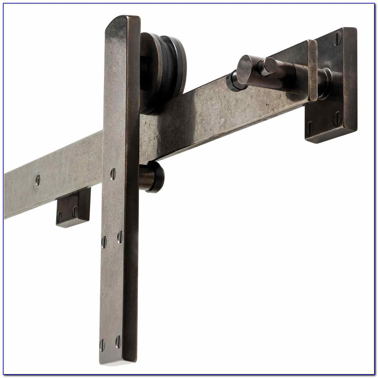 Ceiling Mounted Sliding Glass Door Hardware