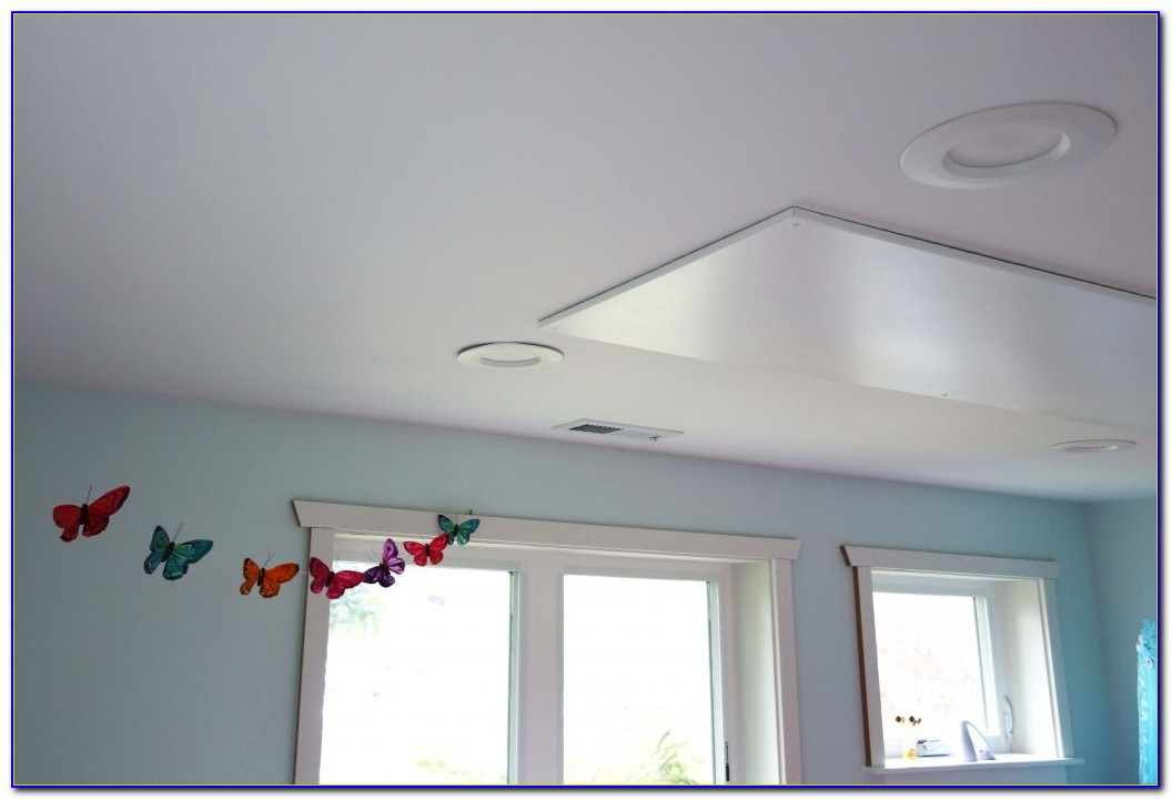 Ceiling Radiant Heating Panels