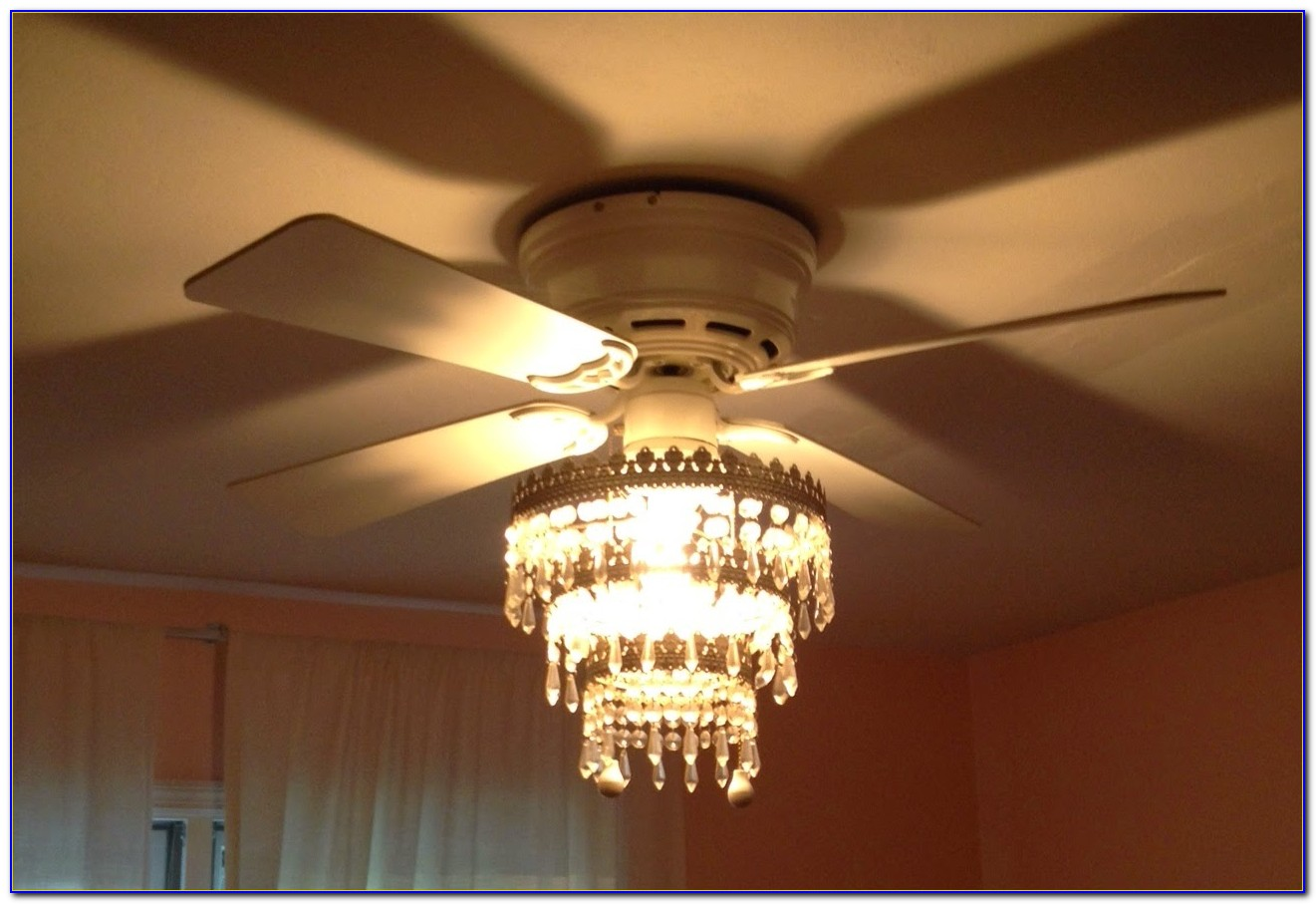 Chandelier Ceiling Fan Combo