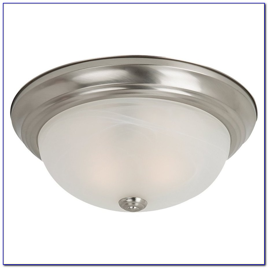 Charleston Brushed Nickel Ceiling Light