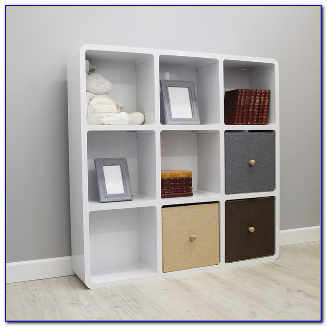 Children's Sling Bookcase White