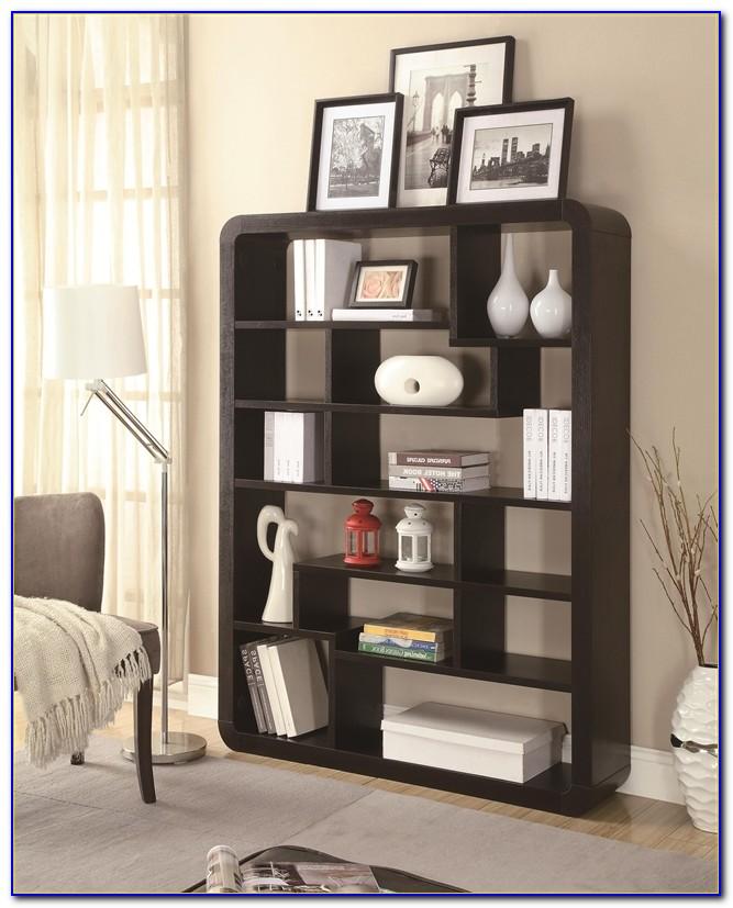 Coaster Cappuccino Bookcase Corner Unit