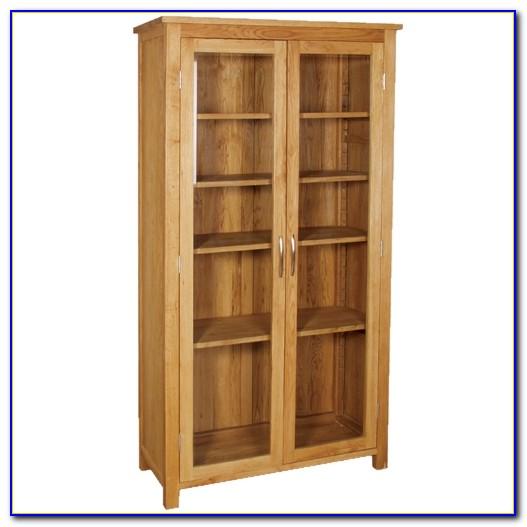 Contemporary Oak Bookcase Tall