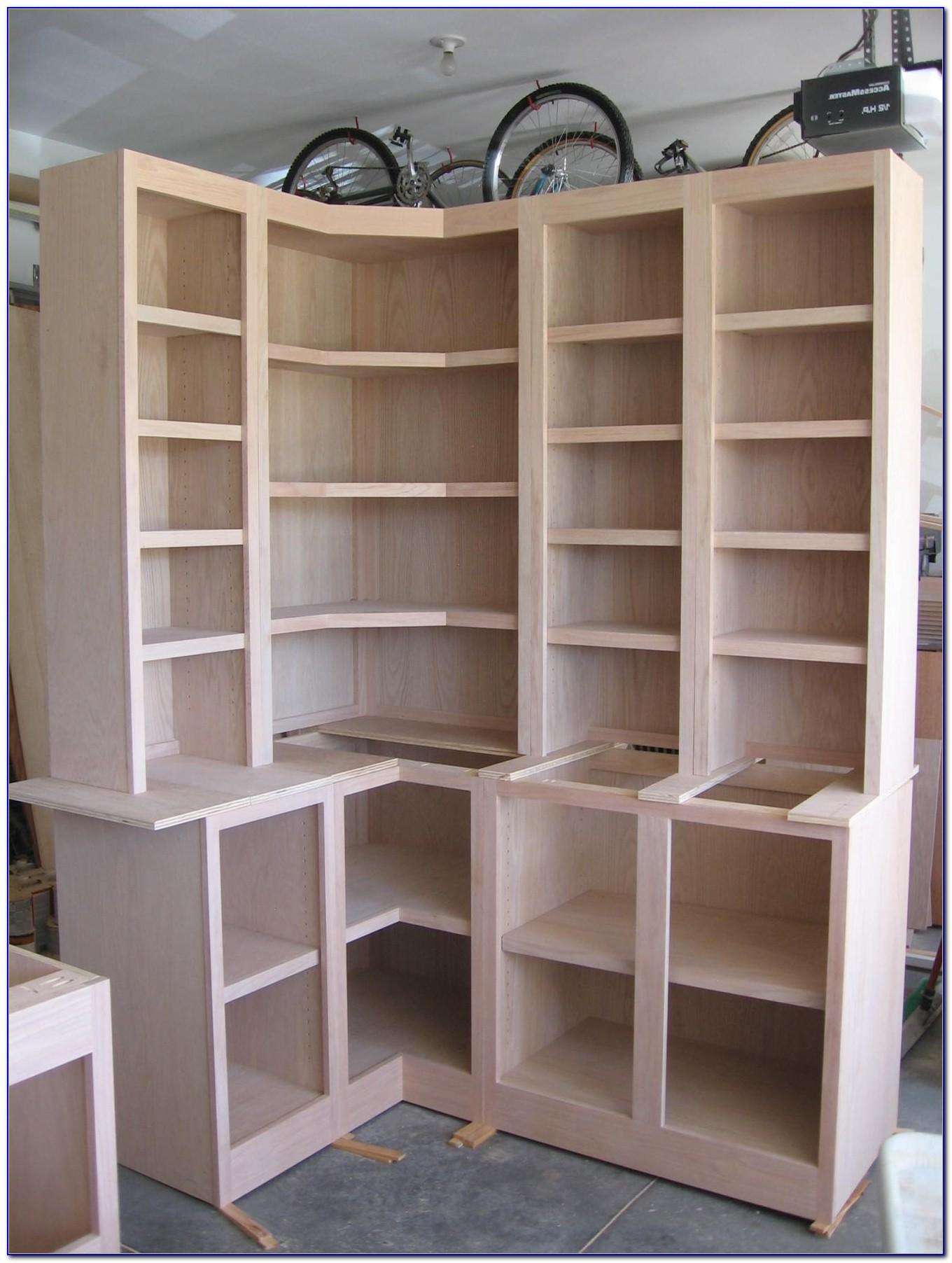 Corner Cabinet Bookcase
