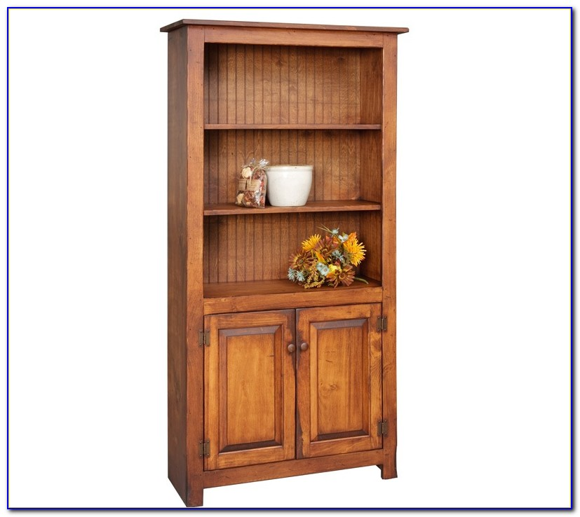 Corona Two Door Bookcase