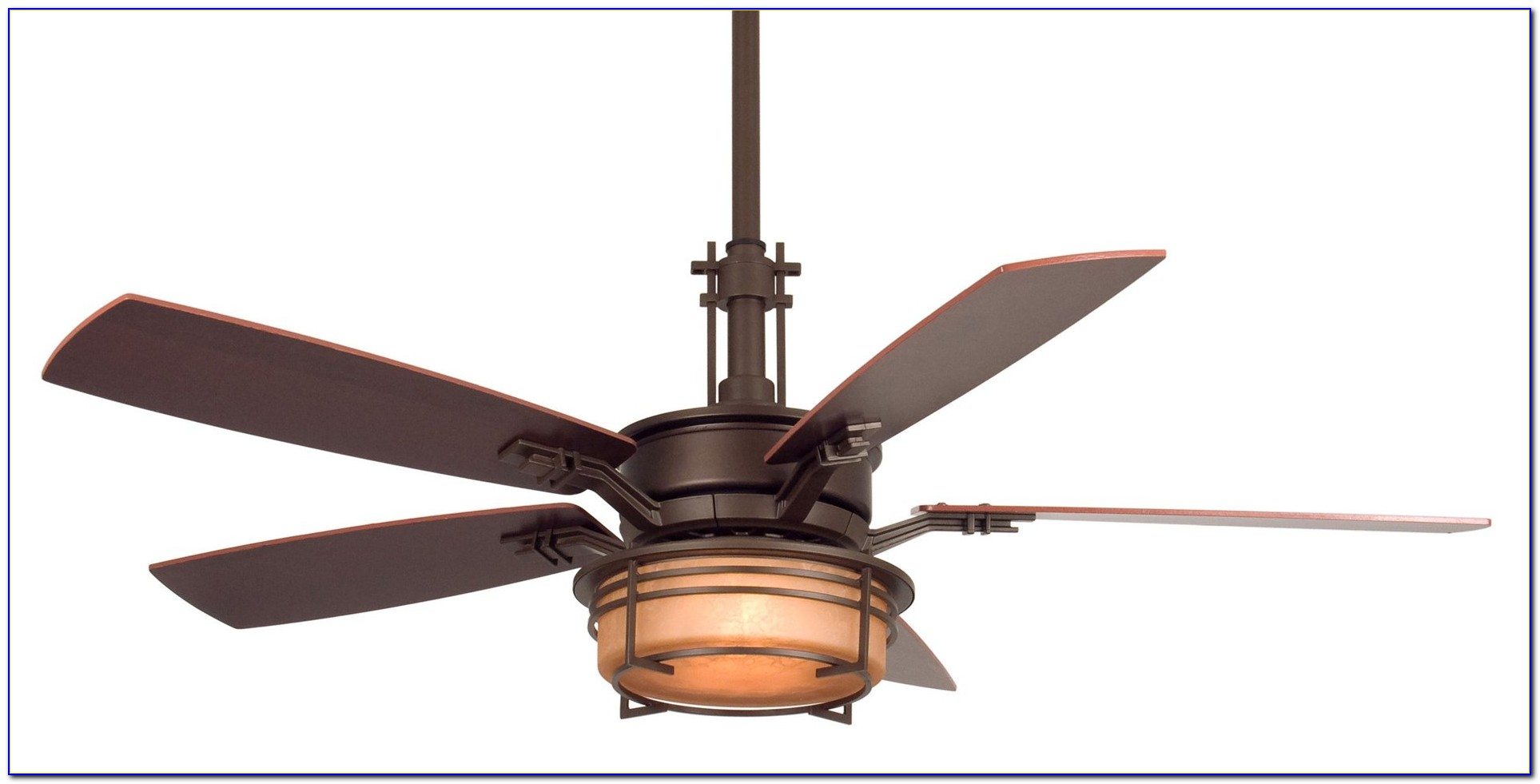 Craftsman Style Ceiling Mounted Fans With Lights