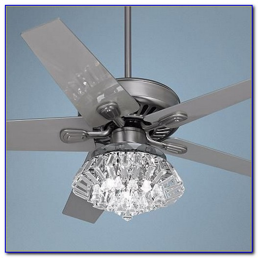 Crystal Chandelier Light Kit For Ceiling Fan