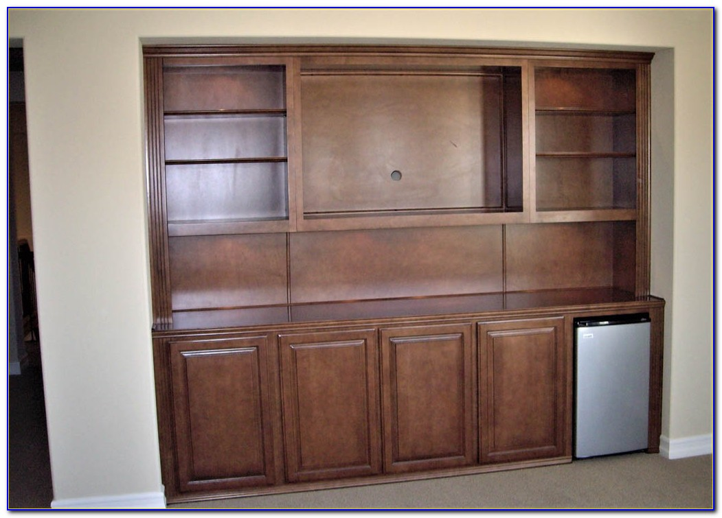 Custom Built Bookcases Cabinets