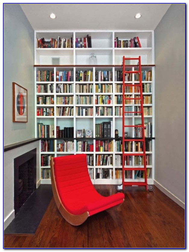 Custom Home Library Bookcases