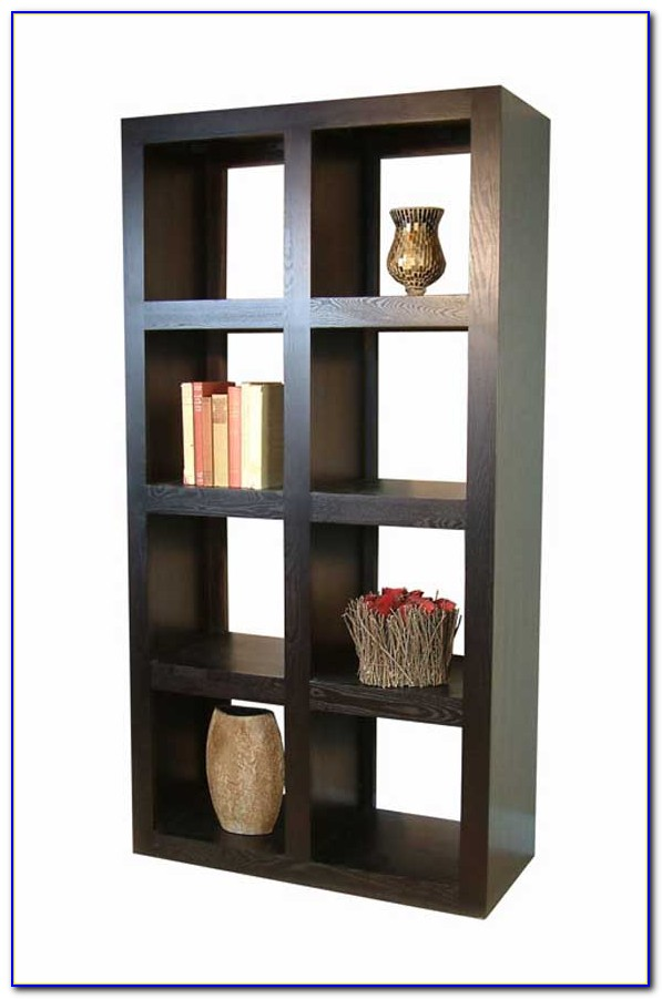 Dark Wood Bookshelf