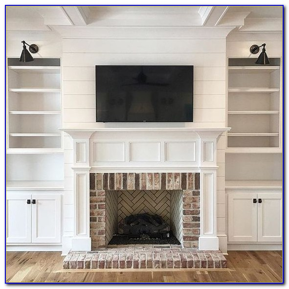 Decorating Fireplace Bookcase Surrounds