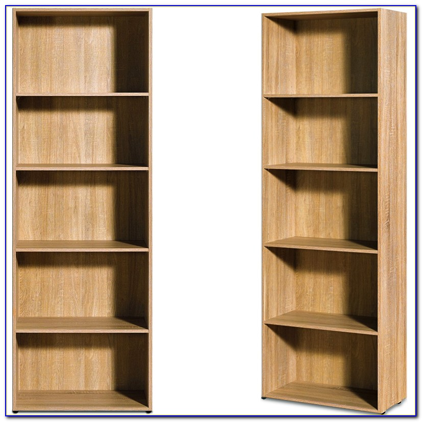 Deep Shelves Bookcase Wood