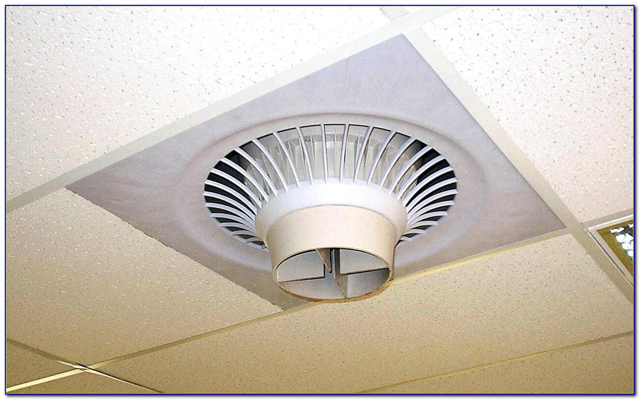 Drop Ceiling Exhaust Fan Server Room