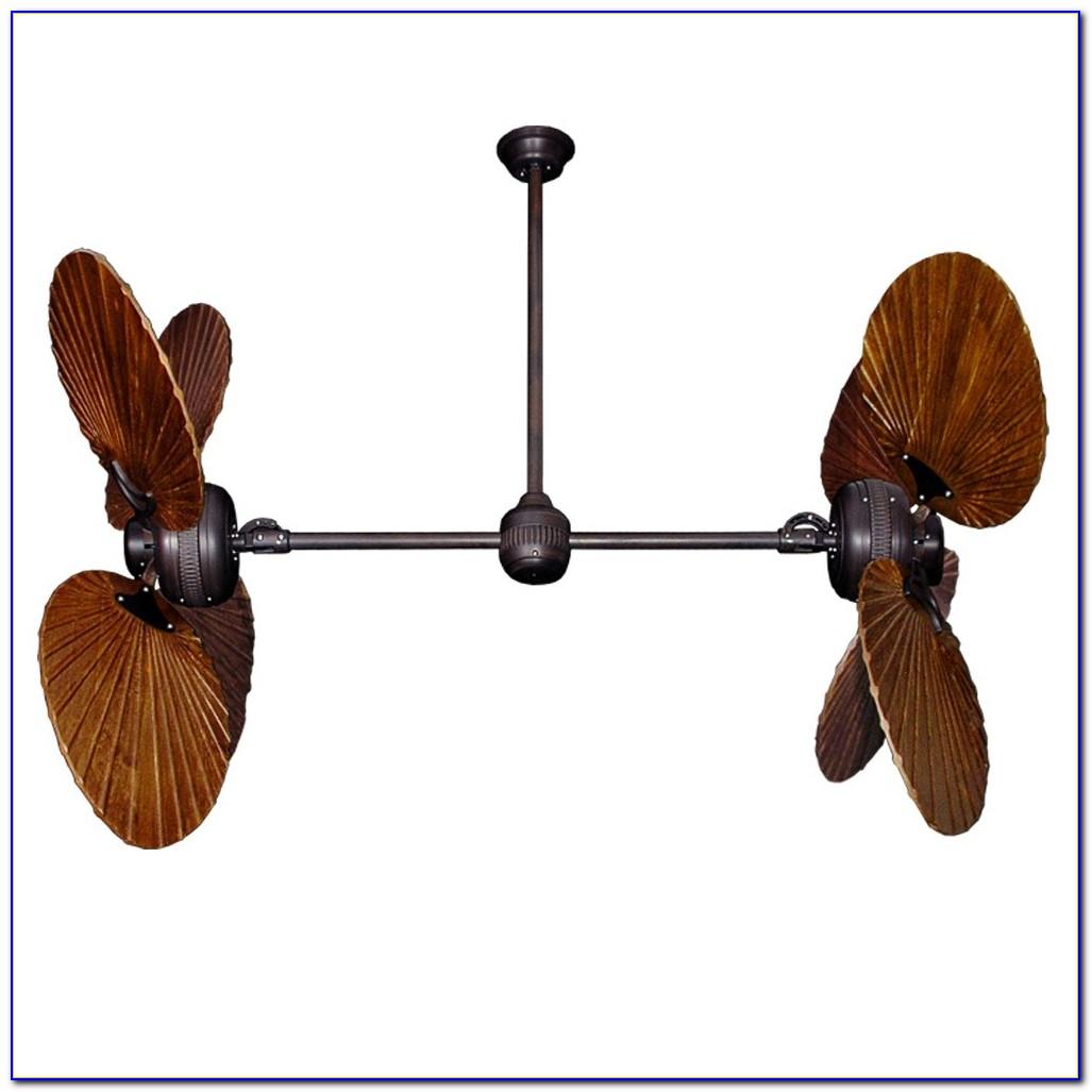 Dual Motor Oscillating Ceiling Fan