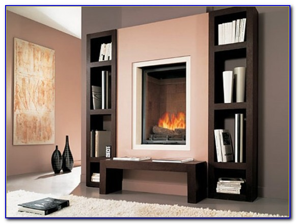 Fireplace Surround With Built In Bookcases