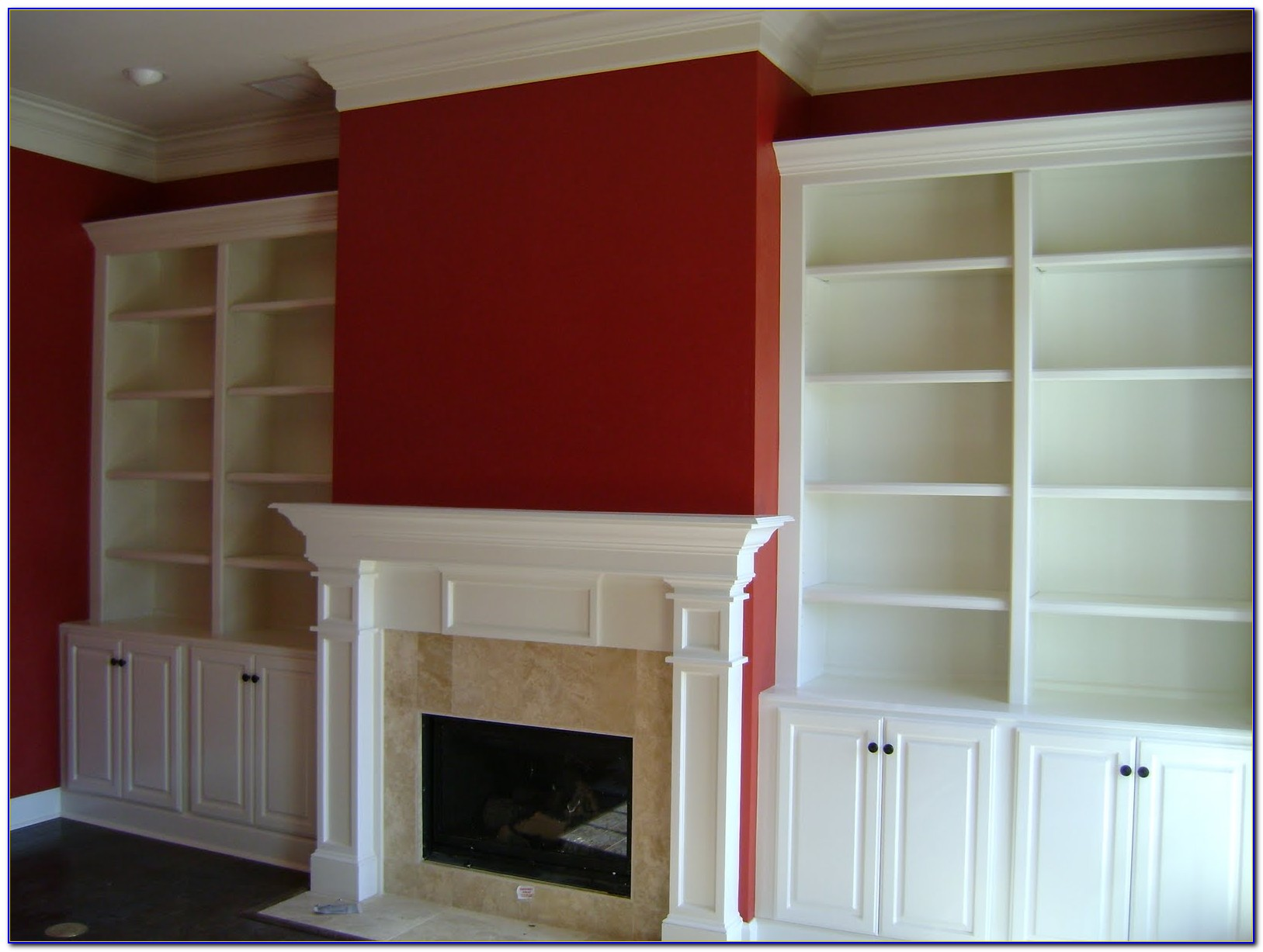 Fireplaces With Built In Bookcases