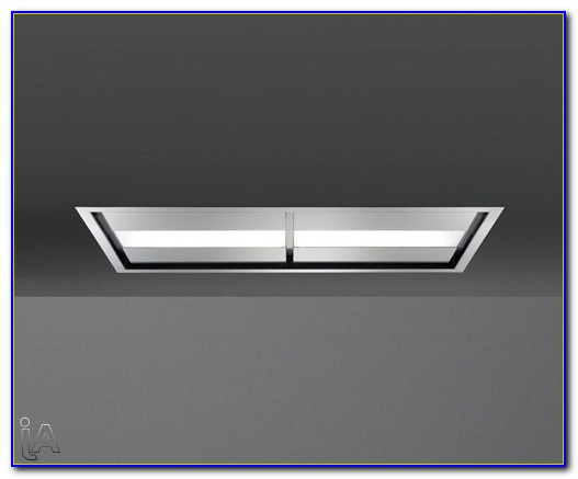 Flush Ceiling Mount Range Hood