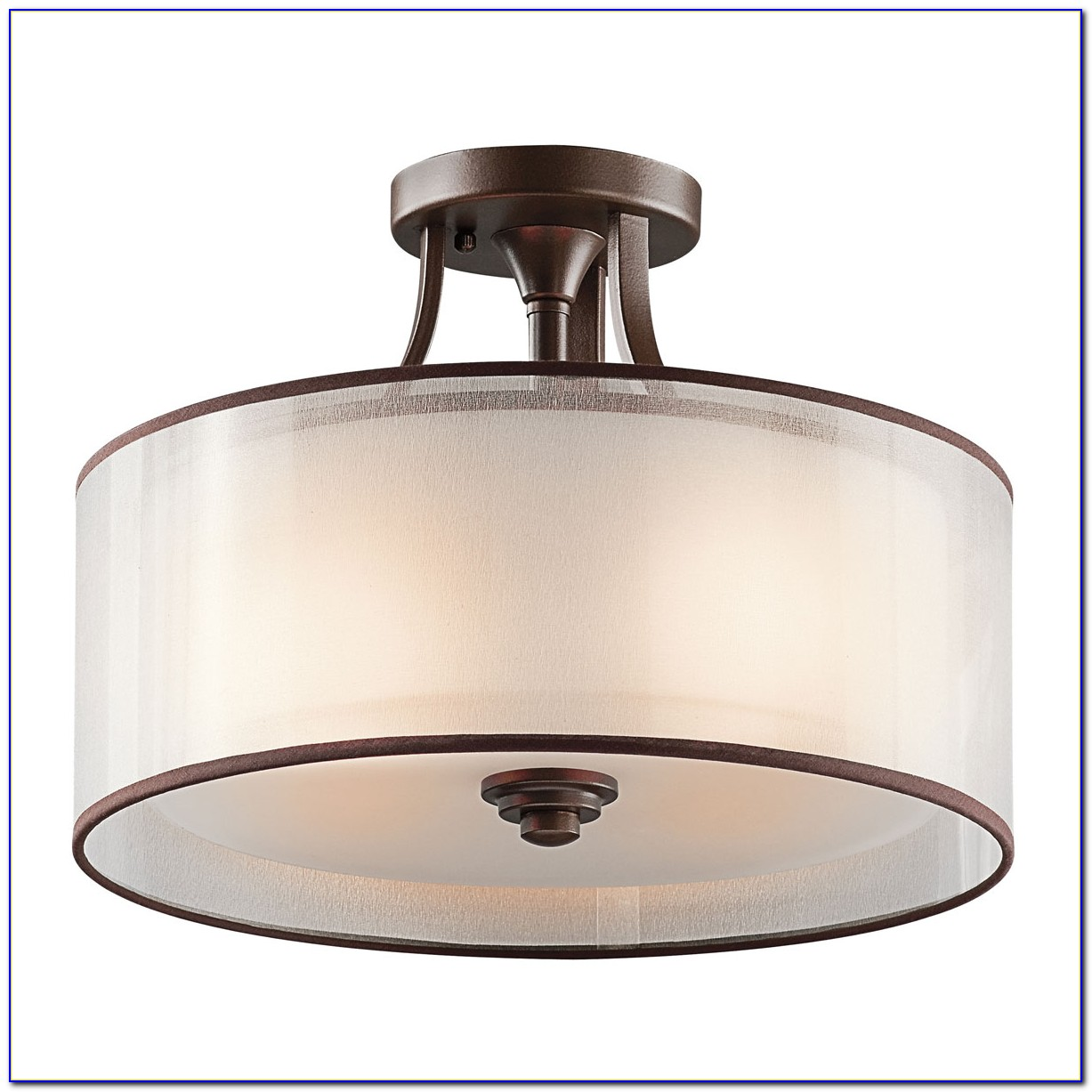 Flush Mount Ceiling Light Bronze