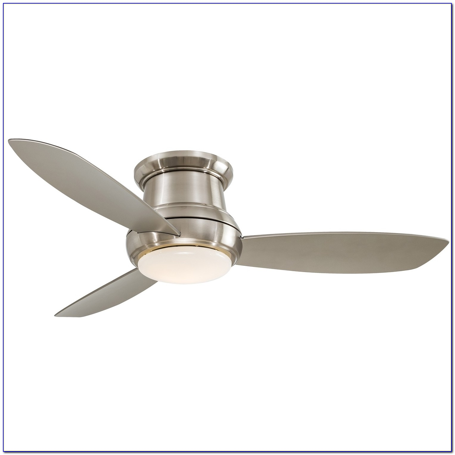 Flush Mount Outdoor Ceiling Fans Without Lights