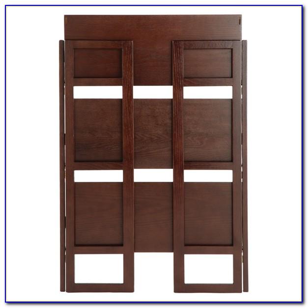 Folding Wood Bookshelf