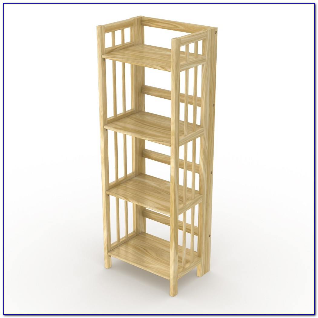 Folding Wooden Bookcases