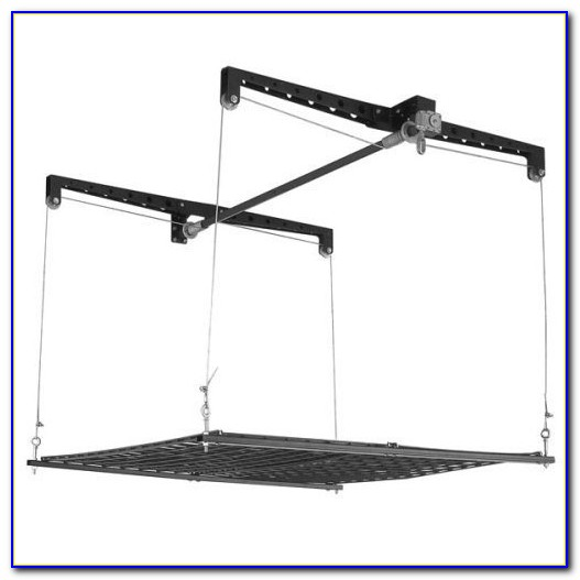 Garage Ceiling Lift Hoist Storage System For Bicycle