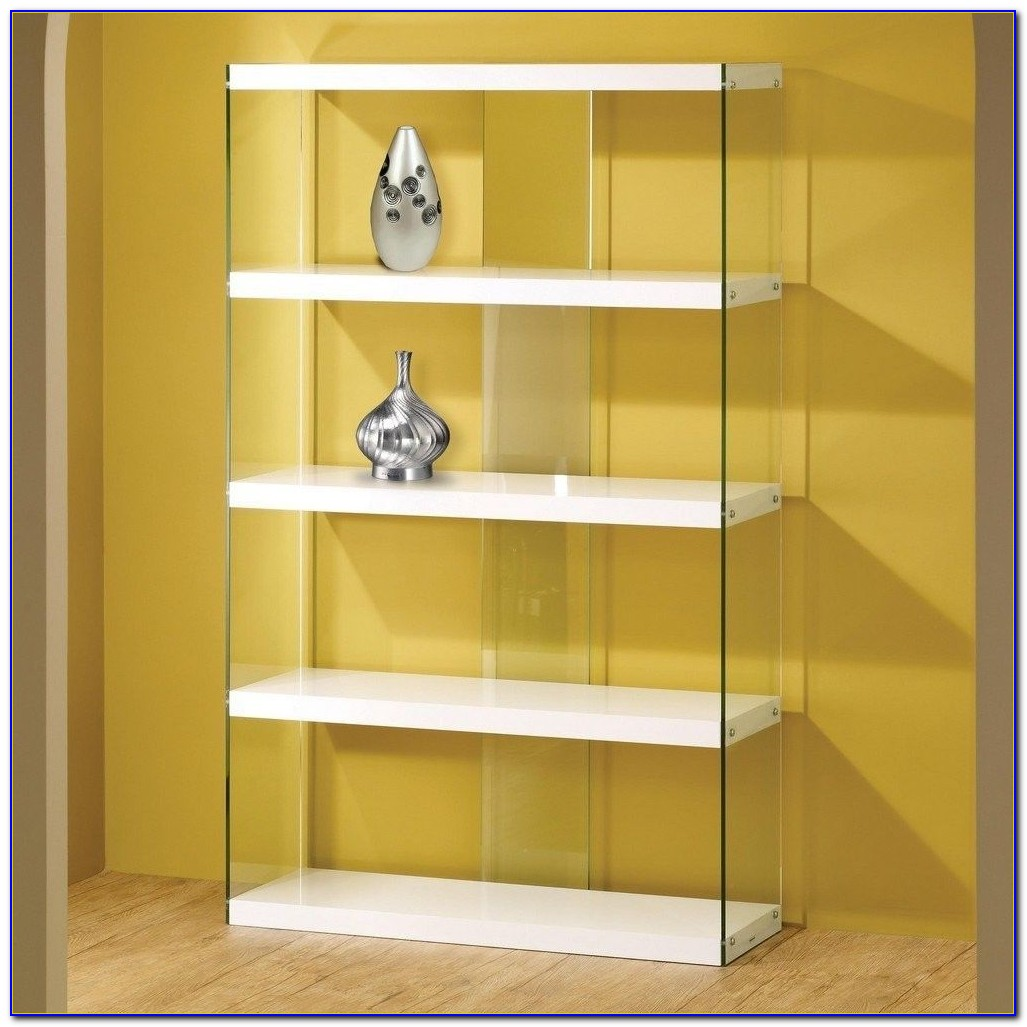 Glass Bookcases And Shelves