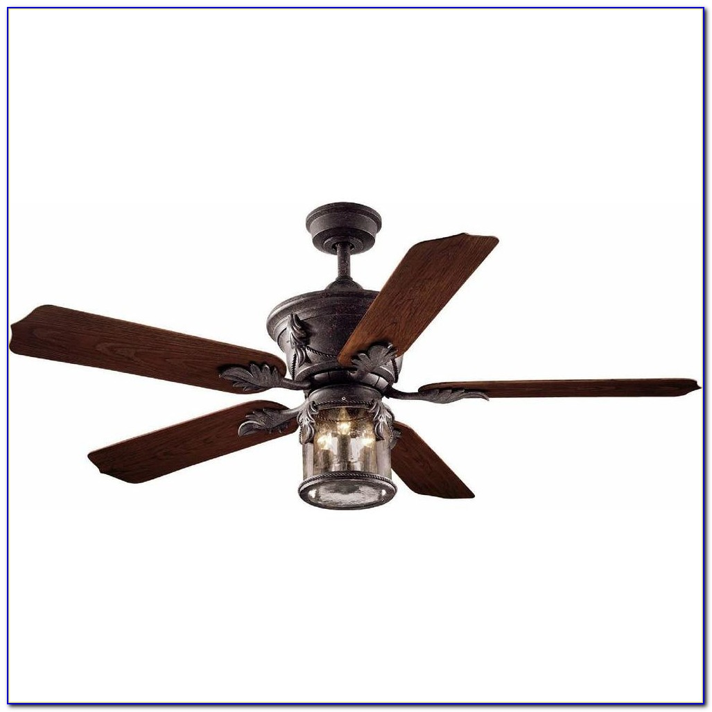 Hampton Bay Outdoor Ceiling Fan With Remote