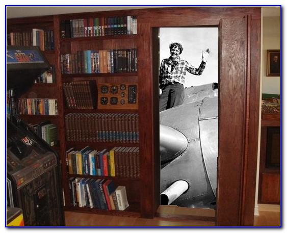 Hidden Bookcase Door Hardware