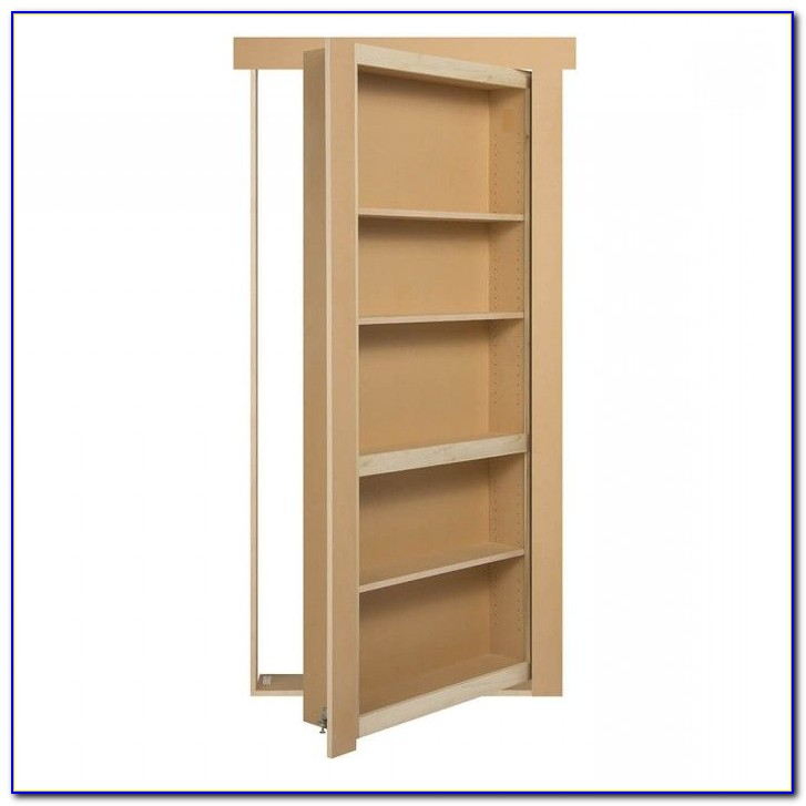 Hidden Bookshelf Hardware