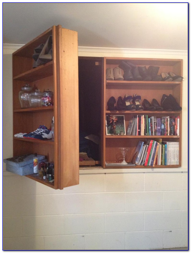 Hidden Passage Bookcase