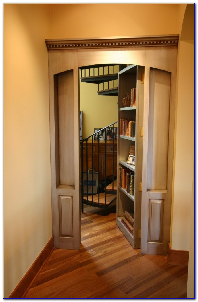 Hidden Room Bookcase Door