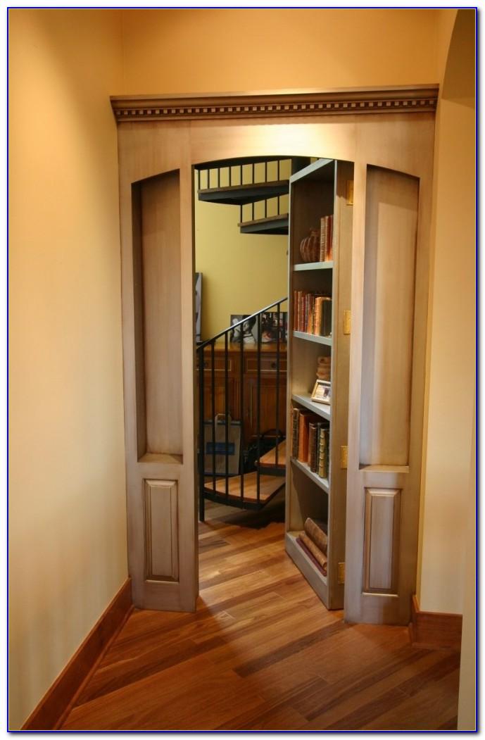 Hidden Room Bookcase Door
