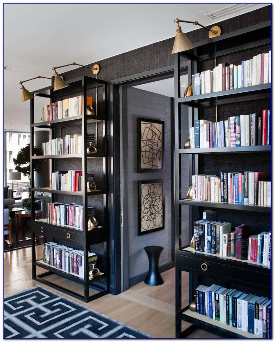 Home Library Built In Bookcases