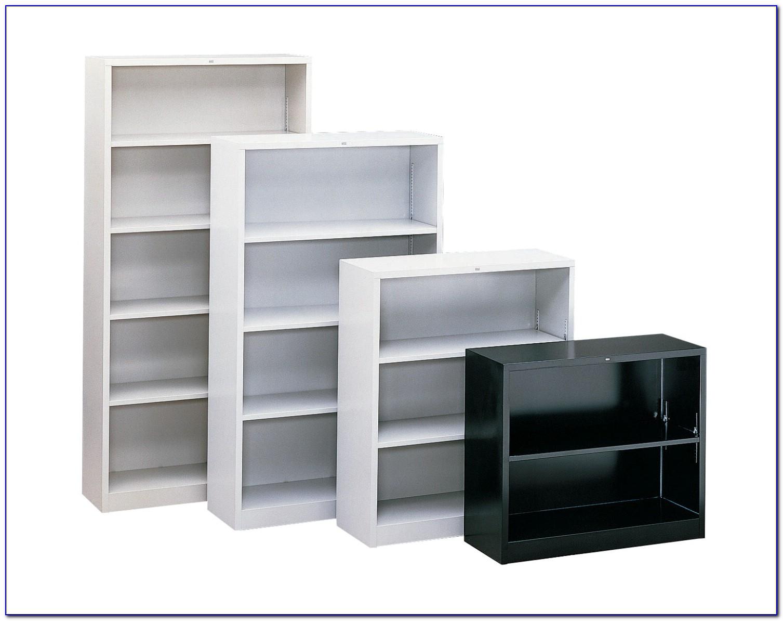 Hon Brigade Metal Bookcase 6 Shelves