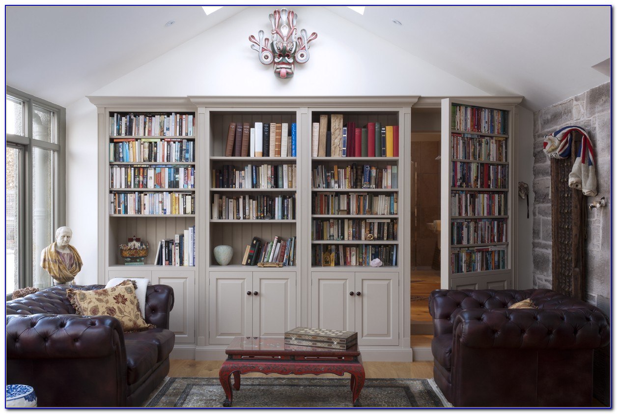 How To Install Secret Bookcase Doors
