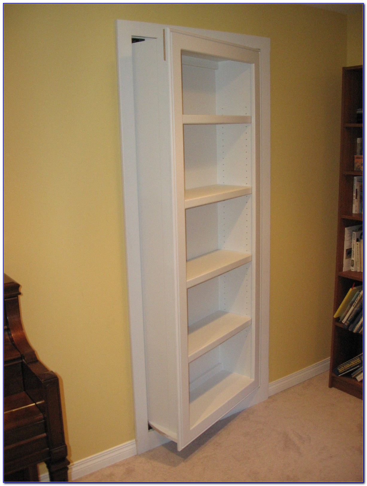 How To Make Secret Bookshelf Door