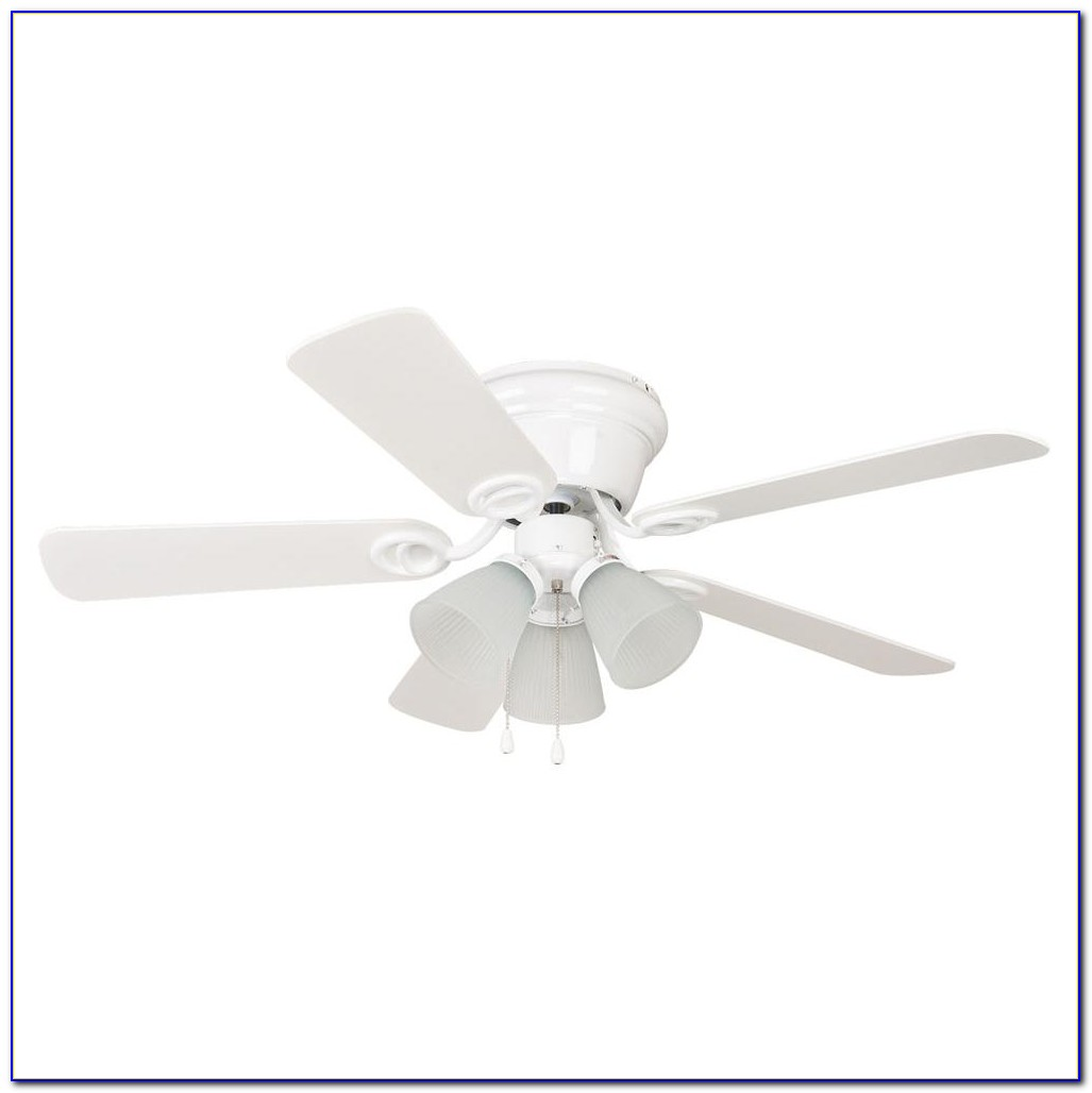 Hunter White Ceiling Fan With Remote