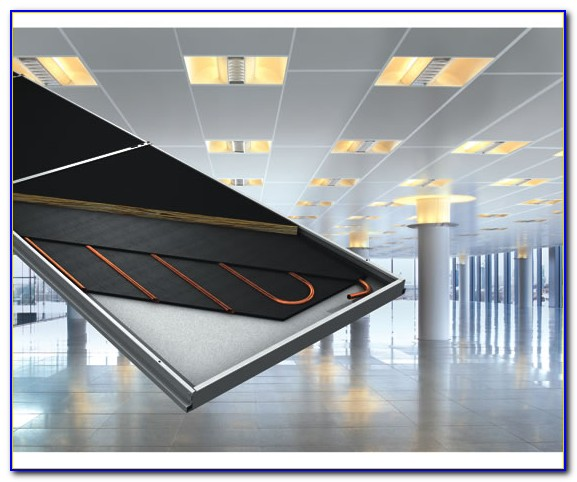 Hydronic Ceiling Radiant Heating Panels