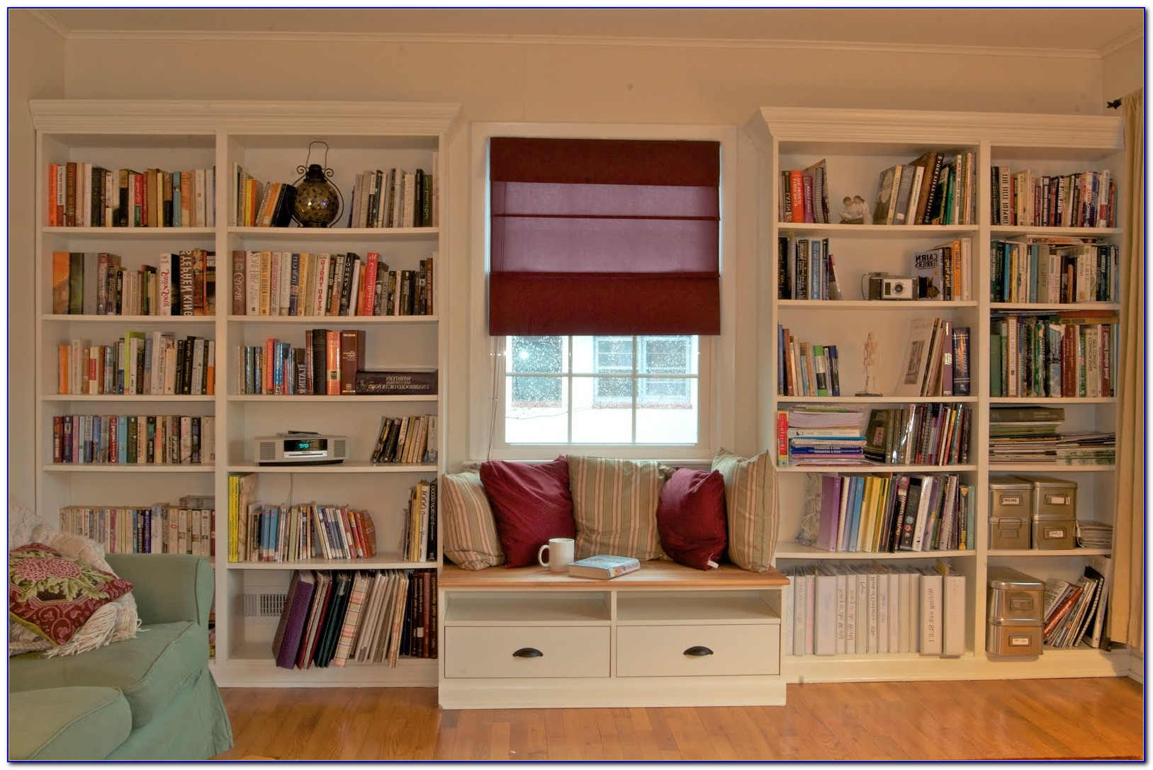 Ikea Bookcase Window Seat