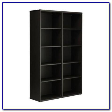Ikea Bookshelf Black Brown